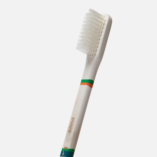 Зубная щетка Piave Medium Tynex Nylon Slim Green/White