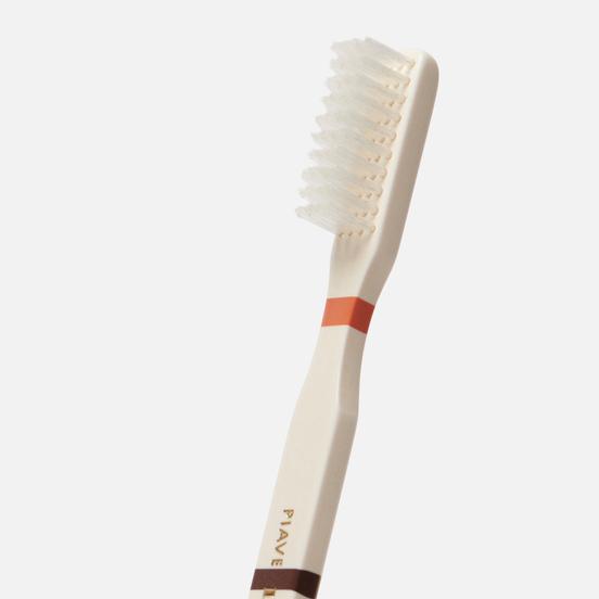 Зубная щетка Piave Medium Tynex Nylon Thick Brown/White