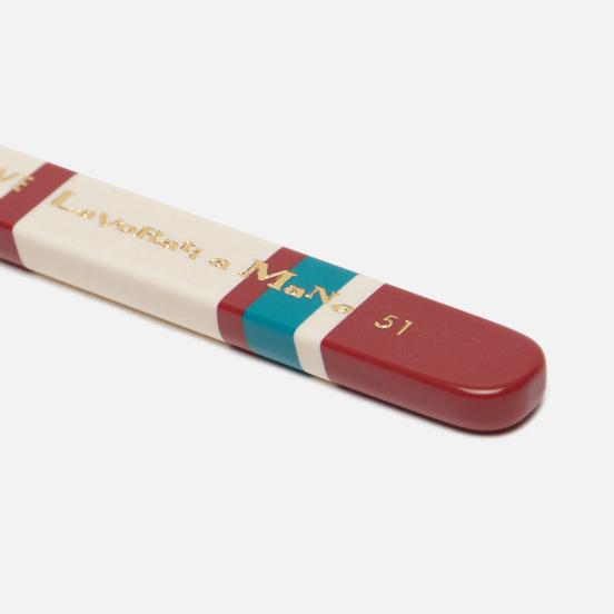 Зубная щетка Piave Medium Tynex Nylon Thick Red/White