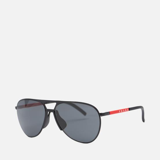 Солнцезащитные очки Prada Linea Rossa 51XS-1BO06L-3N Matte Black/Dark Grey