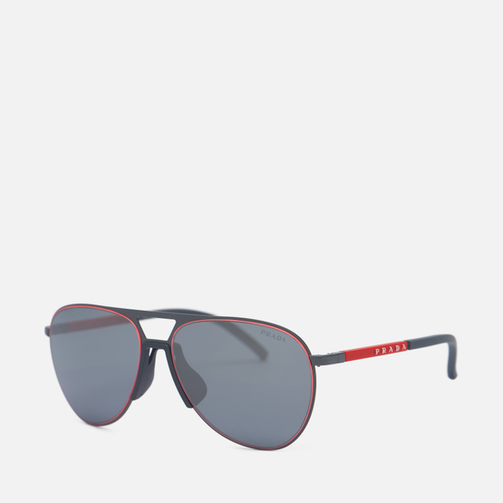 Солнцезащитные очки Prada Linea Rossa 51XS-TWW09L-3N Matte Grey/Grey Mirror Black