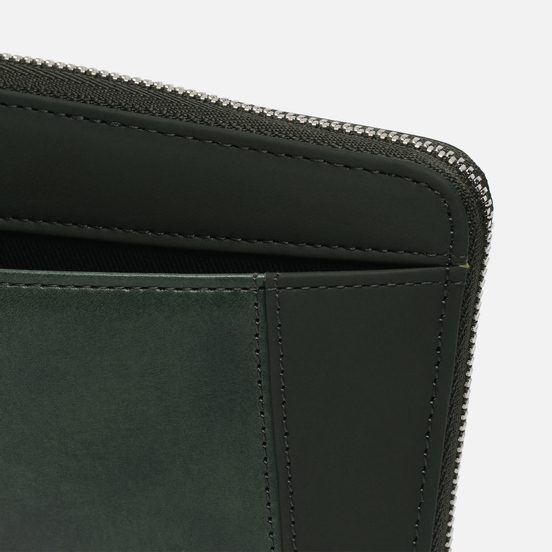 Кошелек Master-piece Essential Leather Round Zipper Green