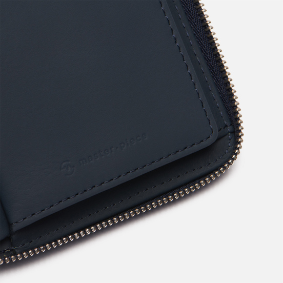 Кошелек Master-piece Essential Leather Middle Navy