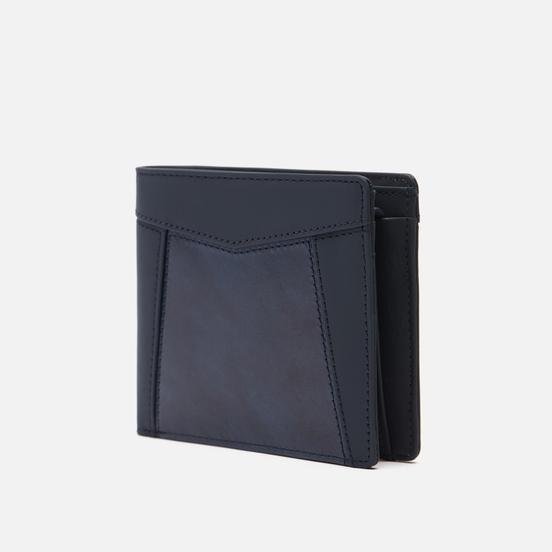 Кошелек Master-piece Essential Leather Bifold Middle Navy