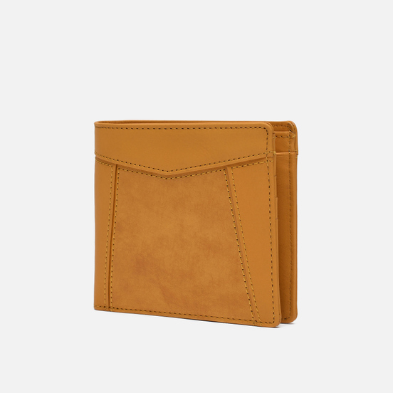 Кошелек Master-piece Essential Leather Bifold Middle Yellow