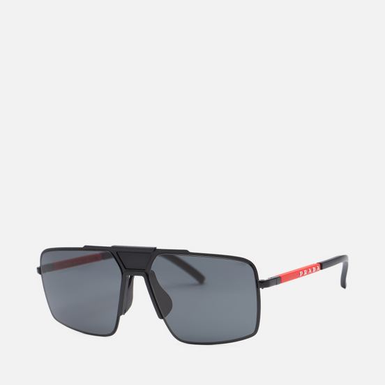 Солнцезащитные очки Prada Linea Rossa 52XS-1BO06L-3N Matte Black/Dark Grey