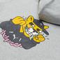 Мужская толстовка Puma x Aka Boku Print Hoodie Light Gray Heather фото - 2