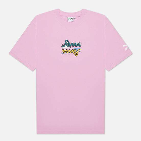 Мужская футболка Puma x Aka Boku Print Pastel Lavender