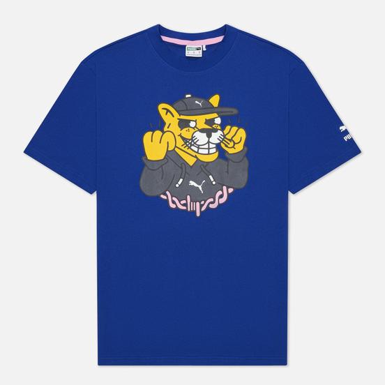 Мужская футболка Puma x Aka Boku Print Sodalite Blue