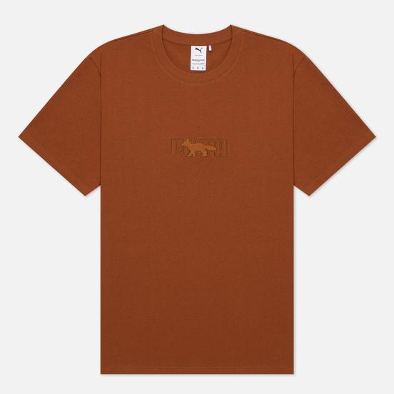 Мужская футболка Puma x Maison Kitsune Logo Oversized Monks Robe