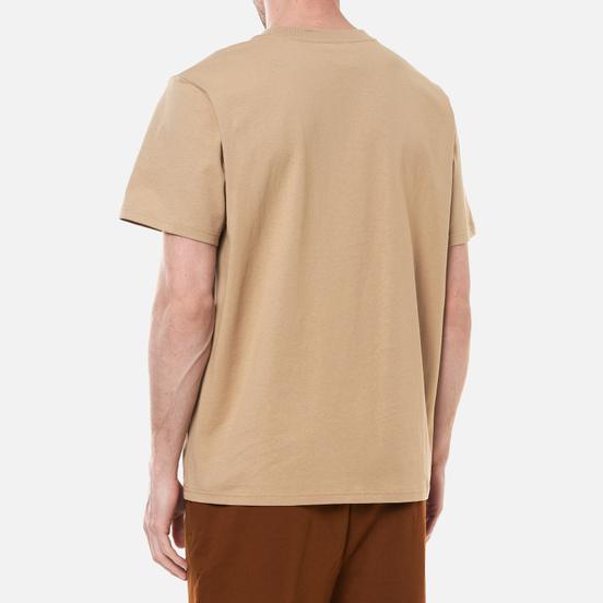 Мужская футболка Puma x Maison Kitsune Logo Oversized Travertine