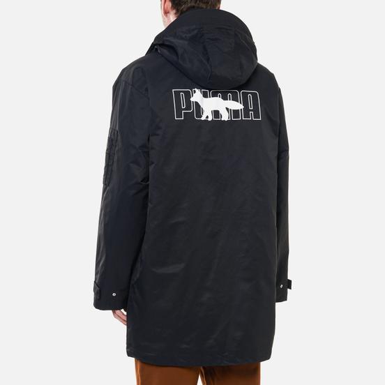 Мужская куртка Puma x Maison Kitsune Logo Military Black
