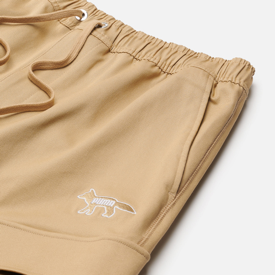 Мужские шорты Puma x Maison Kitsune Logo Cargo Travertine