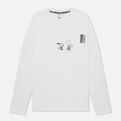 Мужской лонгслив Puma x Peanuts LS Archive Logo White