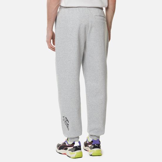 Мужские брюки Puma x Peanuts Archive Logo Light Gray Heather