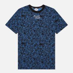 Мужская футболка Puma x Mr Doodle All Over Print Black/All Over Print