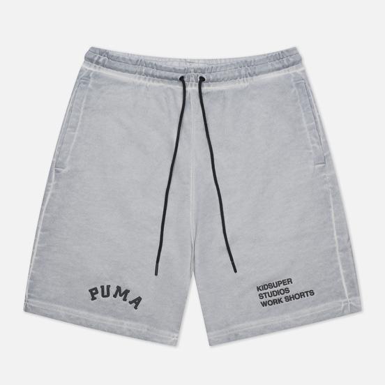 Мужские шорты Puma x Kidsuper Studios Treatment Gray Violet