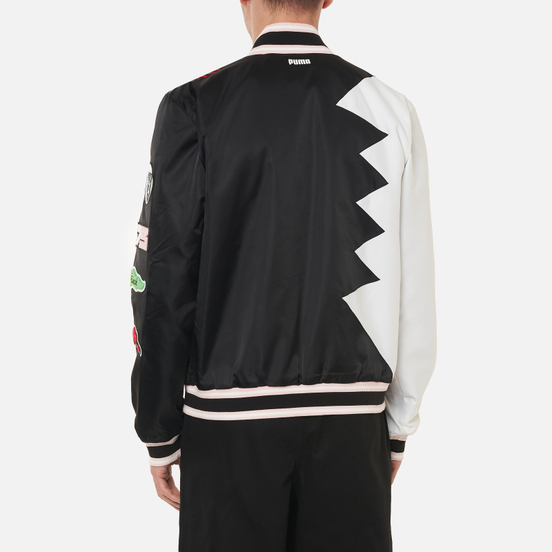 Мужская куртка бомбер Puma Official Visit Black