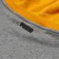 Мужская толстовка Puma Combine Hoodie Medium Gray Heather/Amazon Green фото - 3