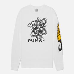 Мужской лонгслив Puma 4th Quarter White