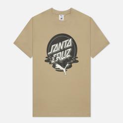 Мужская футболка Puma x Santa Cruz Print Spray Green