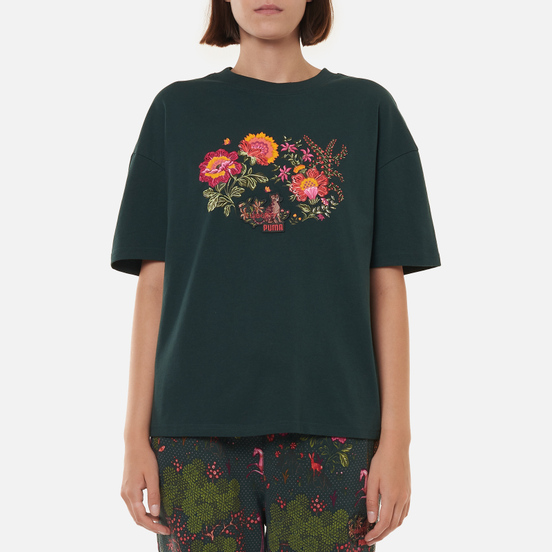 Женская футболка Puma x Liberty Graphic Green Gables