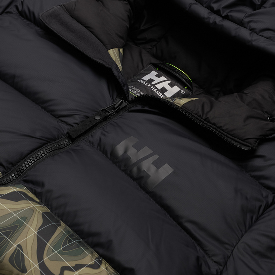 Мужской пуховик Helly Hansen Active Puffy Beluga/Green