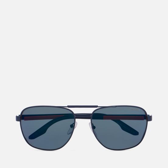 Солнцезащитные очки Prada Linea Rossa 53XS-06S01G-3N Matte Navy/Dark Grey External Ar