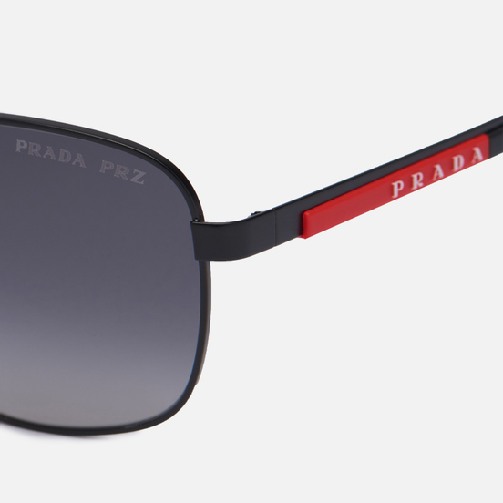 Солнцезащитные очки Prada Linea Rossa 53XS-1BO6G0-3P Polarized Matte Black/Polar Grey Gradient