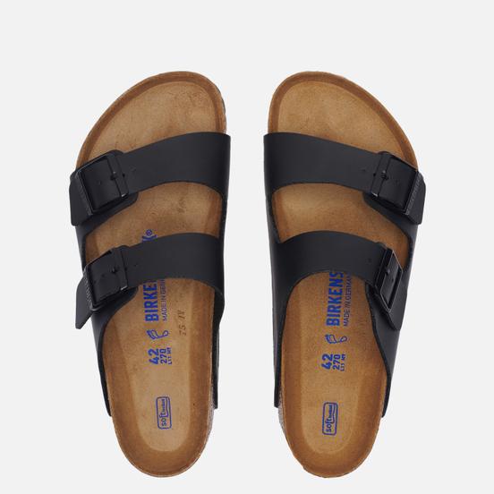 Мужские сандалии Birkenstock Arizona Birko-Flor Soft Black