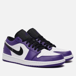 Мужские кроссовки Jordan Air Jordan 1 Low Court Purple Court Purple/Black/White/Hot Punch
