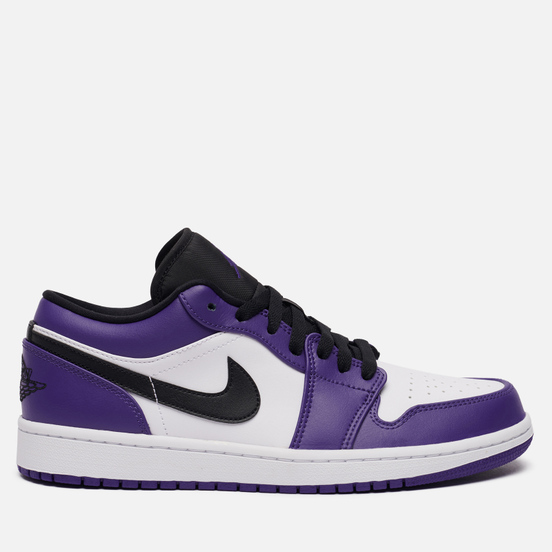 Мужские кроссовки Jordan Air Jordan 1 Low Court Purple Court Purple/Black/White/Hot Punch