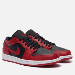 Мужские кроссовки Jordan Air Jordan 1 Low Reverse Bred Gym Red/Black/White