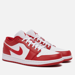 Мужские кроссовки Jordan Air Jordan 1 Low Gym Red/Gym Red/White