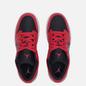Подростковые кроссовки Jordan Air Jordan 1 Low GS Black/White/Very Berry фото - 1
