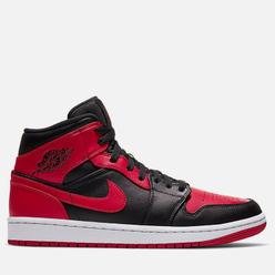 Мужские кроссовки Jordan Air Jordan 1 Mid Banned Black/Gym Red/White