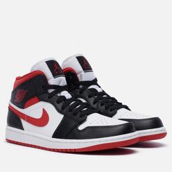 Мужские кроссовки Jordan Air Jordan 1 Mid Gym Red White/Gym Red/Black
