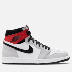 Мужские кроссовки Jordan Air Jordan 1 Retro High OG White/Black/Light Smoke Grey/Varsity Red