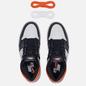 Мужские кроссовки Jordan Air Jordan 1 Retro High OG White/Black/Electro Orange фото - 1