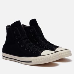 Женские кеды Converse Chuck Taylor All Star Hi Black/Almost Black/Egret