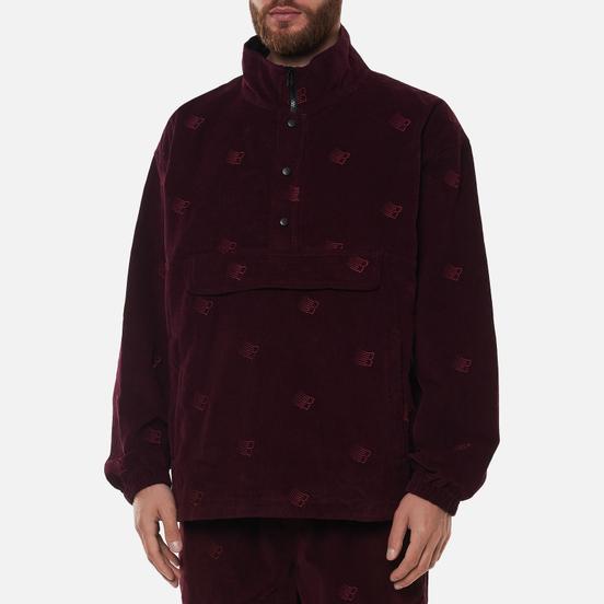 Мужская куртка анорак Bronze 56K All Over Embroidered Maroon