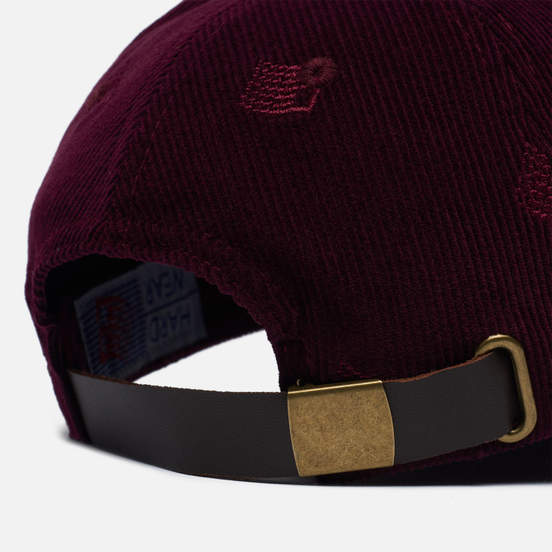 Кепка Bronze 56K All Over Embroidered Maroon