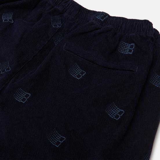 Мужские брюки Bronze 56K All Over Embroidered Navy