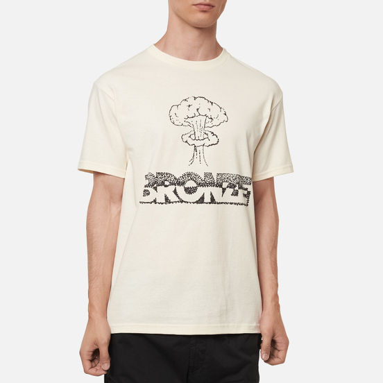 Мужская футболка Bronze 56K Atomic Cream