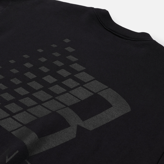 Мужская толстовка Bronze 56K B Logo Crew Neck Off Black