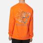 Мужской лонгслив Bronze 56K B Logo Tree Orange фото - 4
