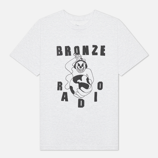 Мужская футболка Bronze 56K Bronze FM Ash Grey