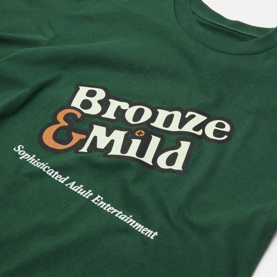 Мужская футболка Bronze 56K Bronze & Mild Forest Green
