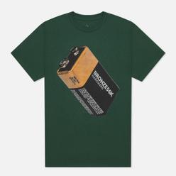Мужская футболка Bronze 56K Battery Forest Green