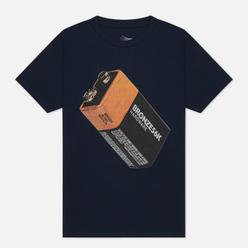Мужская футболка Bronze 56K Battery Navy